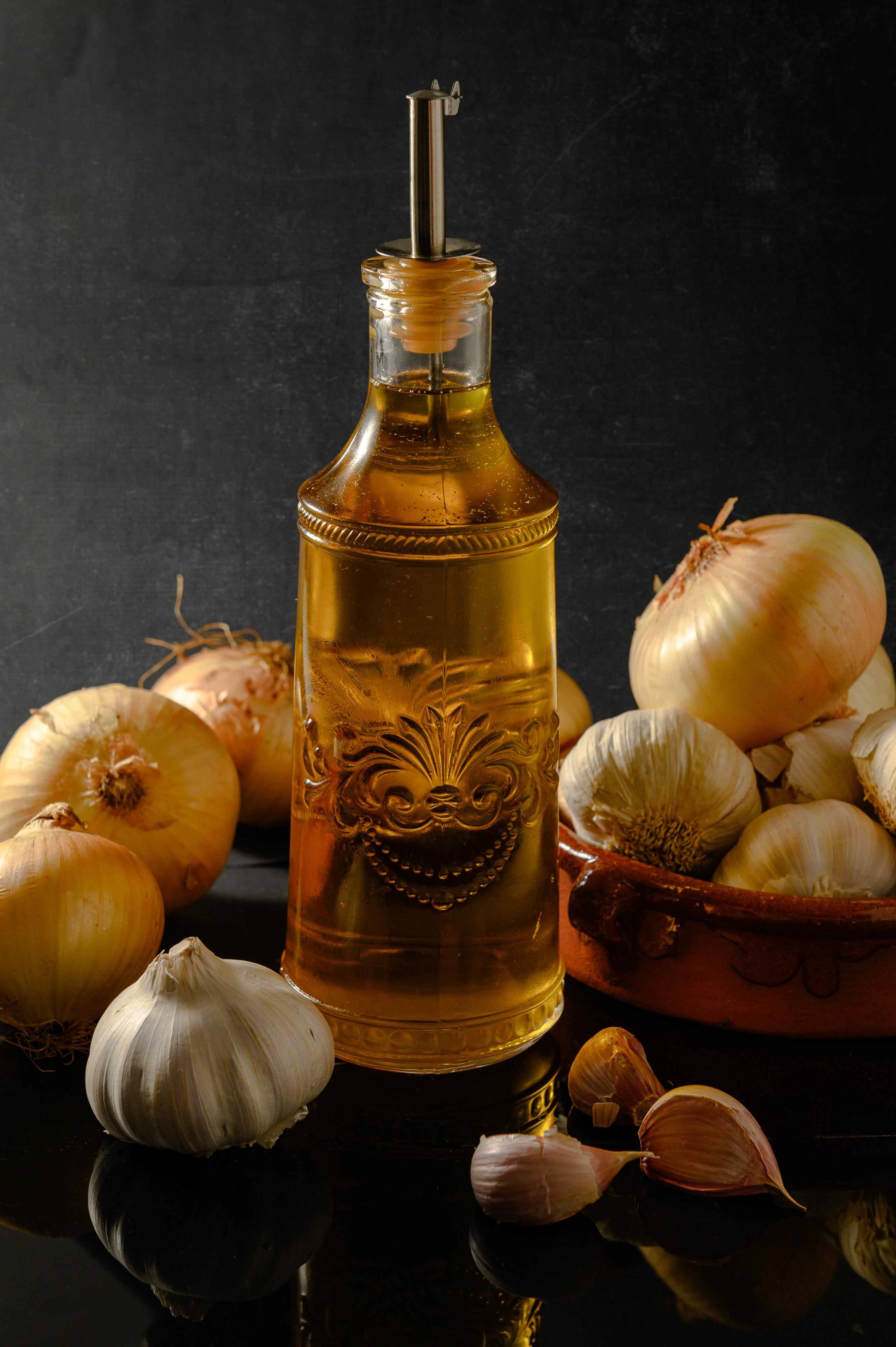 papas y aceite de oliva